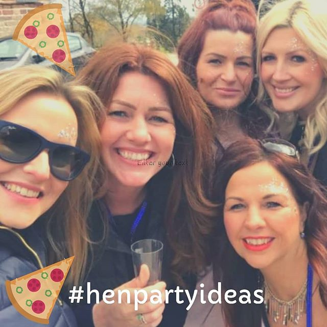 hen party food catering