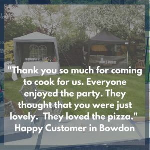 mobile pizza party hire